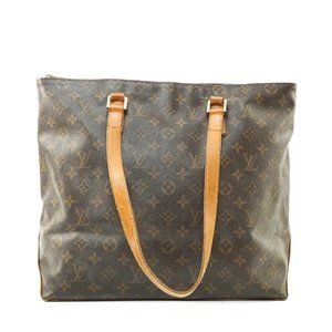 Auth Louis Vuitton Cabas Mezzo Tote Bag #7852L29